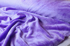 MAUVE ACRYLIC FAUX FUR FABRIC : SELLING BY THE 1/2 METRE  #8767M