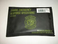 ZOMBIE OUTBREAK SURVIVAL KIT Promo Set Cards, Signs, Tape, Toe Tag