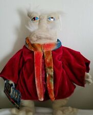 "Rare! 2006 Farscape Dominar Rygel Xvi 12"" Plush Doll w/ tags Toy Vault Sold Out"