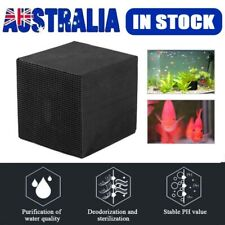 10x10 Eco-Aquarium Water Purifier Filter Cube Fish Tank Cleaning Activated BOX