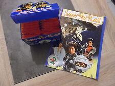 Boite de 100 pochettes de 6 images SAN KU KAI + Album vierge - RARE - No panini