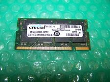 1GB Crucial 333MHz PC2700S 200pin Laptop Memory