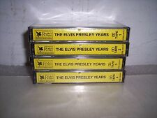 THE ELVIS PRESLEY YEARS TAPES 1 THRU 4 SEALED CASSETTES   #2
