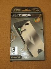 iFrogz Ip4Gsp3-Mir iPhone 4G 3 Pack Mirrored Screen Pro