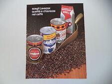 advertising Pubblicità 1975 CAFFE' LAVAZZA/PAULISTA