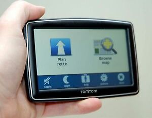 "TomTom XXL 550T GPS 5"" LCD Set USA/Canada/Mexico Maps LIFETIME TRAFFIC 550-T"