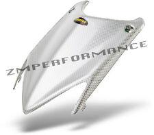 NEW HONDA TRX 400EX TRX 450R WHITE CARBON FIBER PLASTIC STOCK HOOD PLASTICS