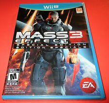 Mass Effect 3 - Special Edition - Nintendo WiiU -  Factory Sealed! Free Ship!