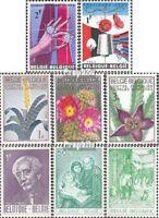 Belgien 1373,1374,1375I-1377I, 1378,1384,1385 (kompl.Ausg.) postfrisch 1965 Diam