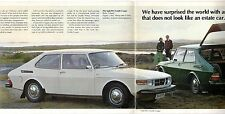 Saab 99 L Combi Coupe 3-dr 1974-75 UK Market Sales Brochure