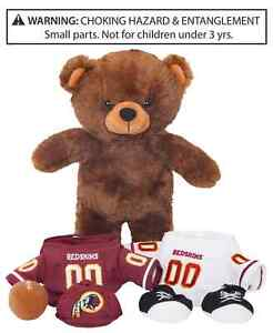 Forever Collectibles Washington Redskins Locker Room Buddy Bear NEW