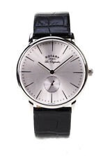 Rotary Men's Kensington Silver Watch GB90050/06 Les Originales