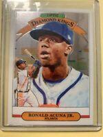 A4193 - 2019 Donruss #16 Ronald Acuna Jr. Diamond Kings