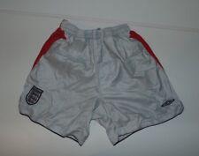 England 2004-06 away football shorts. small boys 6-7 years WORLD CUP