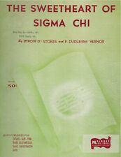 The Sweetheart Of Sigma Chi Sheet Music
