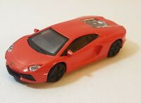 Burago Lamborghini Aventador LP700-4 Loose Diecast Car 1/45 Red Free Shipping