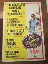 Ipcress File   - Rolled 40 x 60 Movie Poster -Michael Caine
