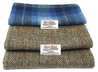 Harris Tweed Fabric with Labels Ideal for Craft Sewing Various Sizes Available
