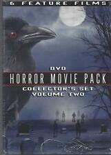 6-HORROR MOVIES/The Satanic Rites of Dracula/HOUSE ON HAUNTED HILL/New DVD