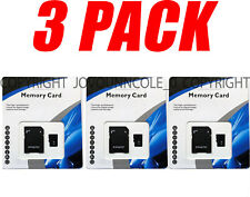 3 Pack 1TB micro MEMORY CARD Class 10 TF 1024GB XC Storage Flash for SD Adapter