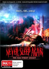 Never Sleep Again - The Elm Street Legacy (DVD, 2012, 2-Disc Set) New/Sealed