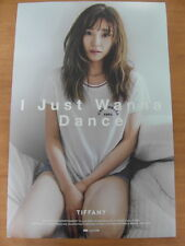 TIFFANY SNSD GIRLS' GENERATION - I Just Wanna Dance (Ver.A) [OFFICIAL] POSTER