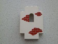 Lego 4444p06 # 1x Paneele 2x5x6 bedruckt weiss weiß  6276 6277 6265