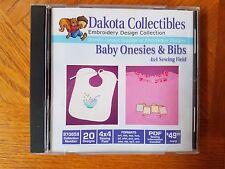 Dakota Collectibles Embroidery Machine Design CD - Baby & Bibs (970658)
