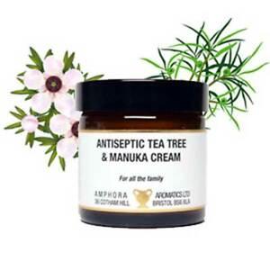 Antiseptic Tea Tree and Manuka Cream 60ml Paraben Free