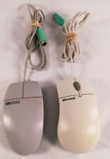 Vintage Microsoft IntelliMouse 1.2A PS/2 and HP Mouse