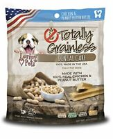 Loving Pets Totally Grainless Chicken & Peanut Butter Dental Chew Small 6 Oz