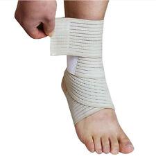 Sport Elastic Ankle Support Foot Compression Wrap Bandage Brace Unisex Fitness