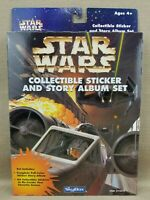 Star Wars Skybox 1996 Collectible Sticker and Story Album Set - NEW UNOPENED