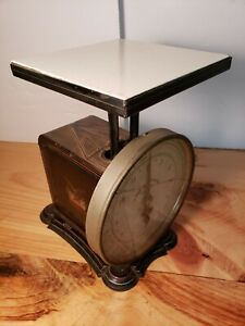 "~~RARE~~ VINTAGE PELOUZE POSTAL SCALE ""MAIL & EXPRESS""  ~~WORKS~~  BE168"