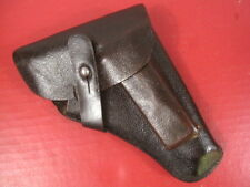 "WWII German Military Brown ""Laminated Paper"" Holster for Sauer 38H Pistol - RARE"