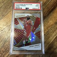 2018 Panini Revolution Astro James Harden Rockets PSA 9 MINT POP 1 Basketball