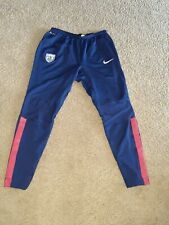 Nike Usa Soccer Pre Match Pants Blue Mens Large