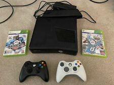 New listing Microsoft Xbox 360 with Kinect 4Gb Black Console, Games, And Dvds