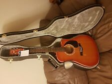 Brand new guitar with its hard case