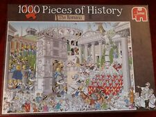 1000 piece jigsaw puzzle cartoon style Pieces of History: The Romans
