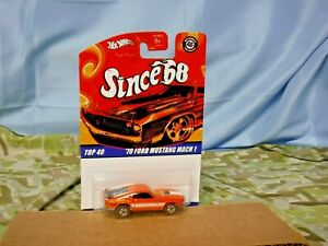 Hot Wheels Since 68 Top 40 #9 - '70 FORD MUSTANG MACH 1 - 2007 Mattel  (DC-340)