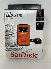 SanDisk Clip Jam Red 8 GB MP3 Player