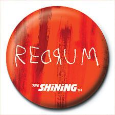 The Shining Redrum Murder 25mm Button Badge Pin Film Movie Horror Stephen King