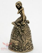 Bronze Bell Figurine of rusalka or mermaid