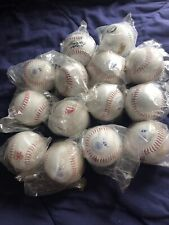 Lot of 14 new, umopened softballs Adstarr, Worth, Dudley