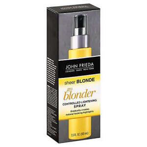 NIB John Frieda Sheer Blonde Go Blonder Controlled Lightening Spray 3.5oz