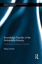 KNOWLEDGE TRANSFER IN THE AUTOMOBILE INDUSTRY - NEW PAPERBACK BOOK