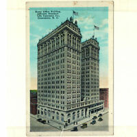 Office Building Jefferson Standard Life Insurance Co Greensboro NC 1931 Postcard