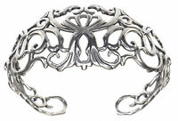 Carolyn Pollack Country Couture Sterling Silver Size Average 7-1/4 inches Cuff
