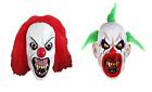 grondant Terror Horreur Masque latex clown adulte déguisement halloween